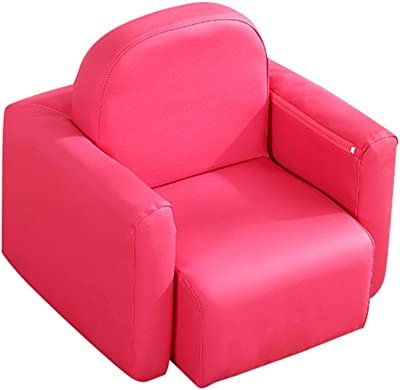 Amazon.com: Sillón para niños, color naranja, multifuncional ...