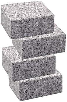 4-Pack Kelfuoya Elaziy Grill Griddle Cleaning Brick Block