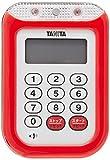 防水大音量 タイマー TD-377 レッド