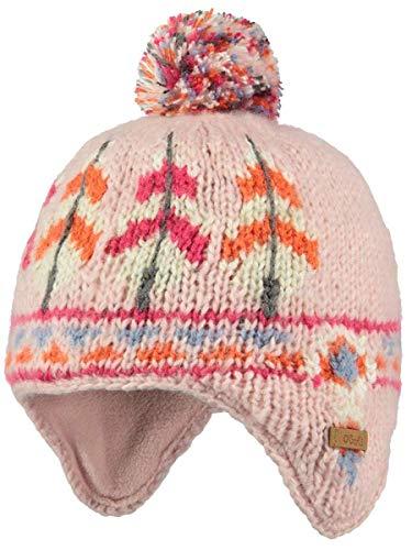 Barts Babymütze 3763208 Whelp Earflap in Peony Indian Ohrmütze Babymütze Gr. 47 (1-1,5 Jahre)