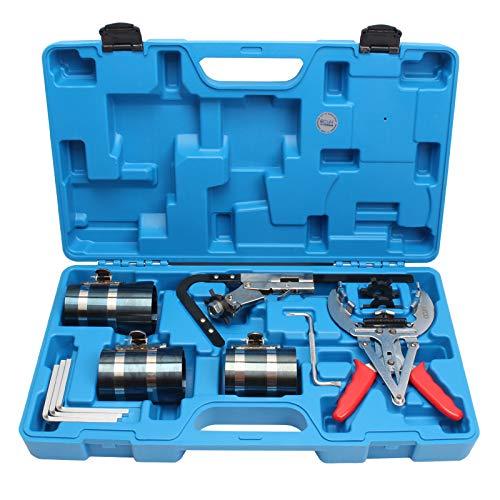 CCLIFE Compresor aros pistón útil para ceñir y segmentar aros de pistones