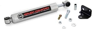 Rough Country N3 Steering Stabilizer Fits 2007-2018 [ Jeep ] Wrangler JK Premium Steering Damper 8730630