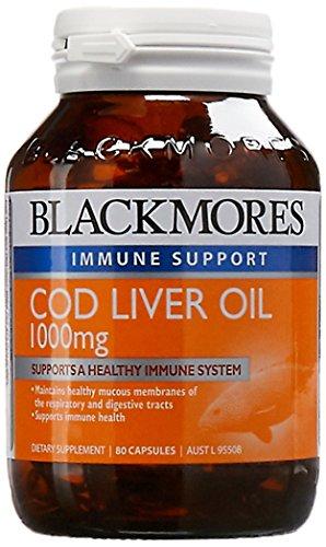 Blackmores Cod Liver Oil 1000mg (80 Capsules)