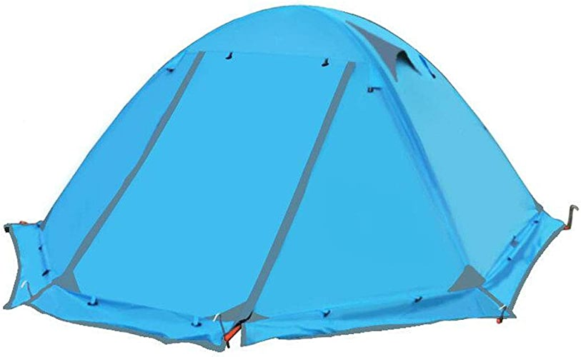 Tent, rainproof sunscreen Tente de randonnée imperméable pour 2 Personnes pour Le Camping, la randonnée, l'escalade de Voyage - InsTailletion Facile