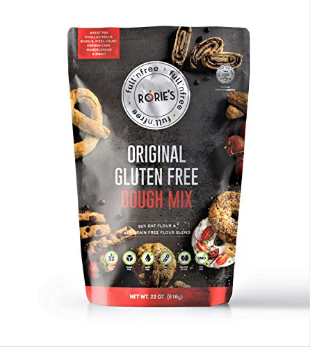 Rories Gluten Free Oat Dough Mix 22 oz (pack of 6) Living Full 'N free