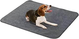 Reusable Washable Puppy Pee Pad 107 x 77cm, Fast Absorbing & Leak-proof Pet Training Pad for Housebreaking, Incontinence -...