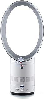 WJXBoos Purificador De Aire Ventilador Sin Aspas, Oscilante Mute Ventilador Sin Hojas Control Remoto Multiplicador De Aire Ventilador De Torre Anión Ventilador De Escritorio Piso-Plata 55 * 25 Cm