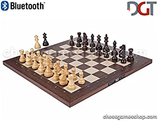 DGT BLUETOOTH Rosewood eBoard with ROYAL pieces - Electronic chess - chessgamesshop.com