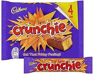 New Original Cadbury Crunchie Chocolate Bar Pack Imported From The UK England Cadbury Crunchie Chocolate Multipack The Very Best Of British Cadbury Chocolate Honey Comb Crunchie