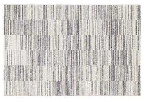 ALTONA SARPEI moderner Designer Teppich in creme-grau-schwarz, Größe: 160x230 cm