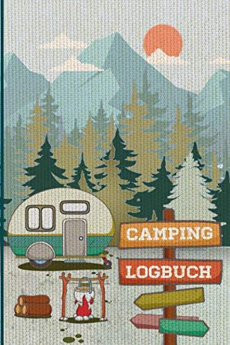 Camping Logbuch: Wohnwagen Reisetagebuch für die Reise mit dem Camper – Reisemobil oder Caravan – 53 Reisetage – ca A5 (6x9 inches)