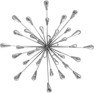 Starburst Wall Art Silver 13