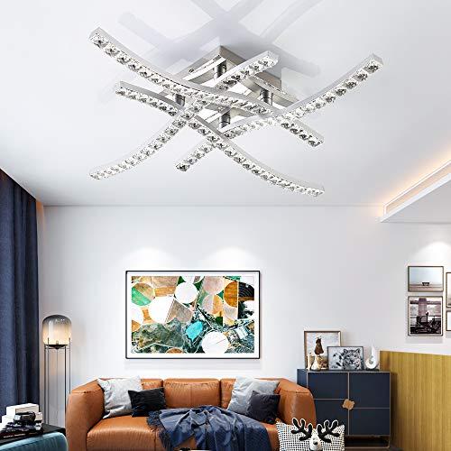 lampadario camera da letto 3000k Plafoniera a LED in Cristallo