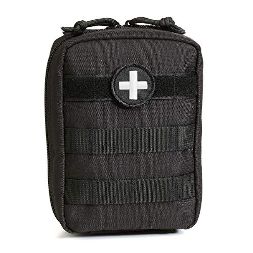 Orca Tactical MOLLE EMT Medical First Aid Utility Pouch (Bag Only) (Black)