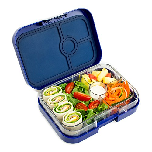 YUMBOX Leakproof Bento Lunch Box Container (Tutti Frutti Blue) for Kids and Adults by Yumbox