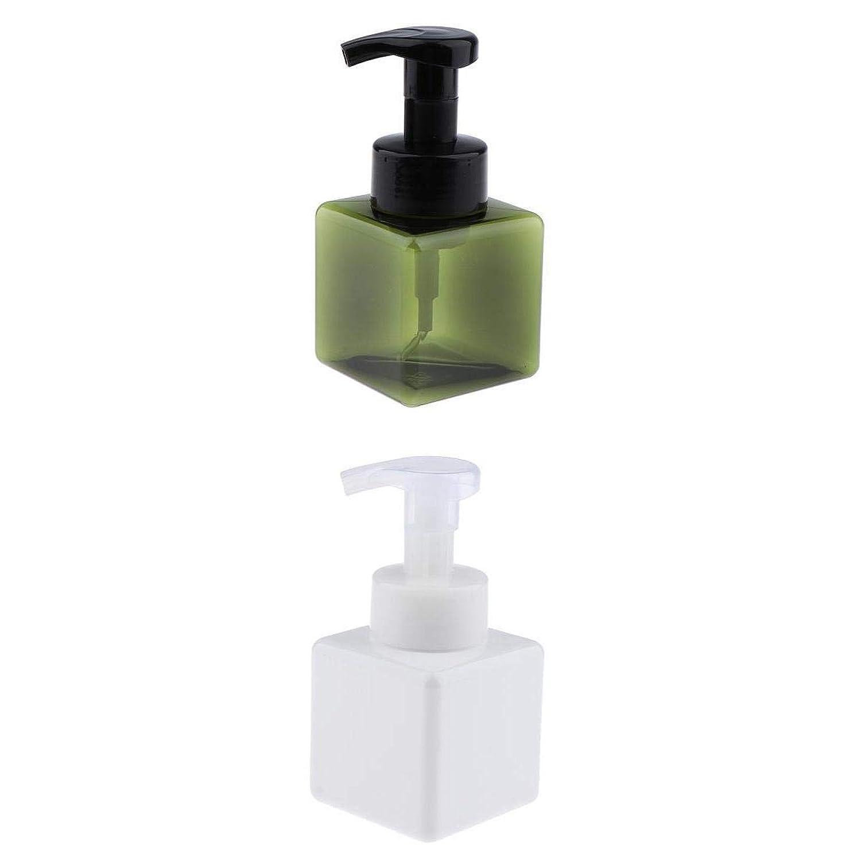 T TOOYFUL 泡ポンプボトル 容器 ポンプ容器 詰め替え プラスチック製 耐久性 耐摩耗性 再利用可能 2個セット