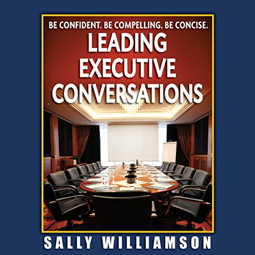 Leading Executive Conversations audiobook cover art