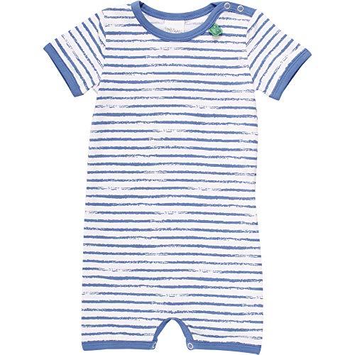 Fred'S World By Green Cotton Ocean Stripe Beach Body, Bleu (Blue 019403901), 86 Bébé garçon