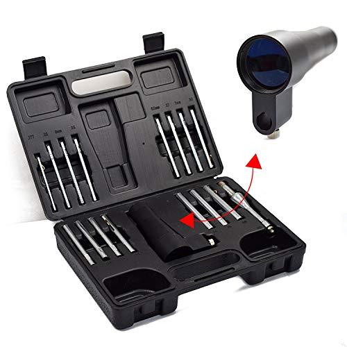 WINGS collimatore di precisione per mirini, Nuovo Modello ~ BS30SGA, Set da 16 Pezzi (Perno Regolabile Incluso), da Calibro 4,5 a 12,7 mm
