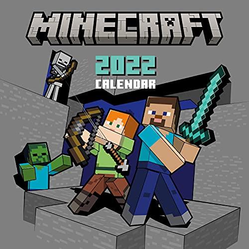Minecraft 2022 - Wandkalender: Original Danilo-Kalender [Mehrsprachig] [Kalender] (Wall-Kalender)