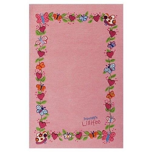 Lillifee Frühlingskranz rosa Kinderteppich LI-2153-01, Größe:80*150cm