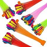 Guillala Wasserbomben Bunch-Balloons Luftballons, Bündel mit je 37 Wasserballons, Ohne zu Knoten...