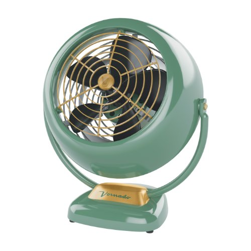 Vornado VFAN Vintage Air Circulator Fan, Green