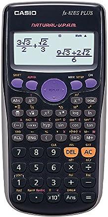 Casio FX-82ES - Calculadora, 80 x 162 x 13.8 mm, negro
