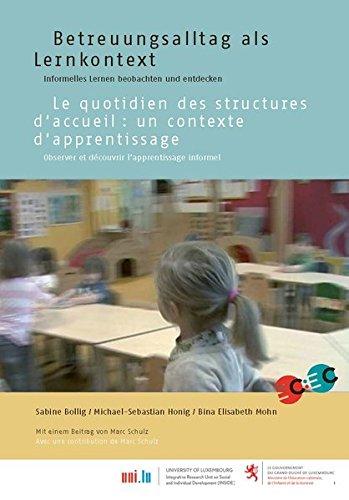 Betreuungsalltag als Lernkontext, deutsch/französisch: Informelles Lernen beobachten und entdecken
