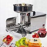 Berkalash Prensa eléctrica para tomates, 450 W, exprimidor de zumos, prensa de frutas, pasapurés