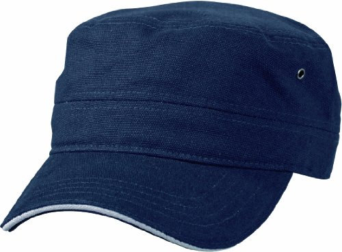 Myrtle Beach Cap Military Sandwich, navy/white, one Size, MB6555 nywh