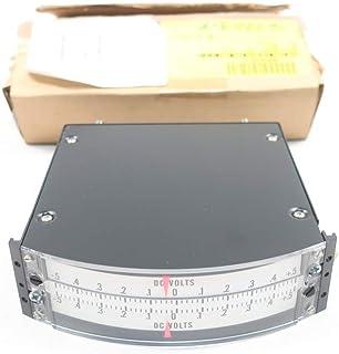 WESCHLER INSTRUMENTS 00007672034 Dual Input Panel Meter 6IN -5-0-5VDC
