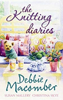 Hardcover THE KNITTING DIARIES Debbie Macomber Large Prinrt Book