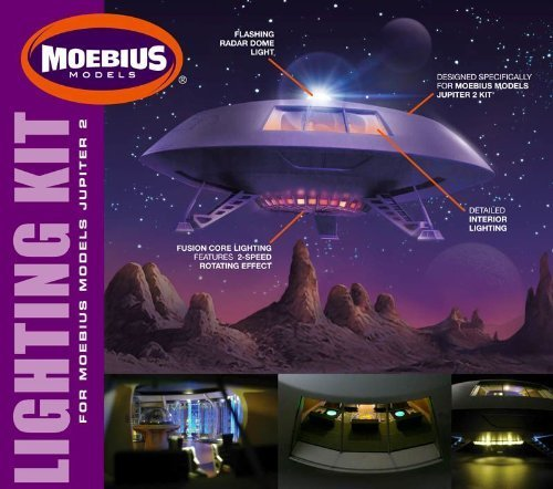 #2097 Moebius Lost in Space Jupiter 2 Lighting Kit ,Needs Assembly [Tools & Home Improvement]