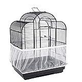 GUOAILAN Colector de Semillas para Jaulas de Pájaros Jaula de Malla de Loro Grande Malla de Nylon para Jardinería Cubierta de Jaula de Pájaros