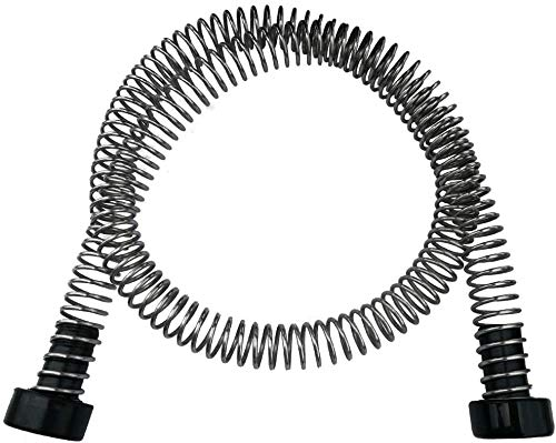"""Heavy Duty Stainless Steel Zipline Spring Brake Extra Long 6 5/16 FT Fits Cable up to 1/2"""", Kids Backyard Zip Line Braking System/Stop/Stopper for 3/16 1/4 5/16 3/8 1/2 inches Wire (5.3 Feet)"""