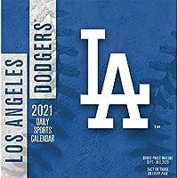 TURNER Sports ロサンゼルス・ドジャース 2021 ボックスカレンダー (21998051406)