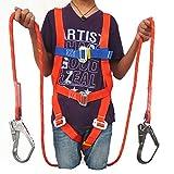 MFZTQ Kit Imbracatura Anticaduta Regolabile Safety Kit Protezione Personale Sospensione In Aria Con 2 Corda Di Sicurezza & Pacchetto Buffer HSGAV