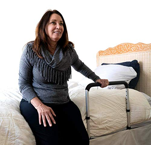 Image of the Portable Couch & Bed Standing Aid for Seniors by STAND A ROO - NO Assembly Required -Stand Assist for Elderly, Disabled and Expecting Mothers - Medical Grade Materials