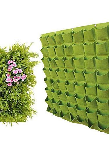 Wall-Mounted Vilt Plant Bag Aanplant Bag Muur Greening plantenteelt Bag Tuinieren Bag Niet-geweven Growth Bag