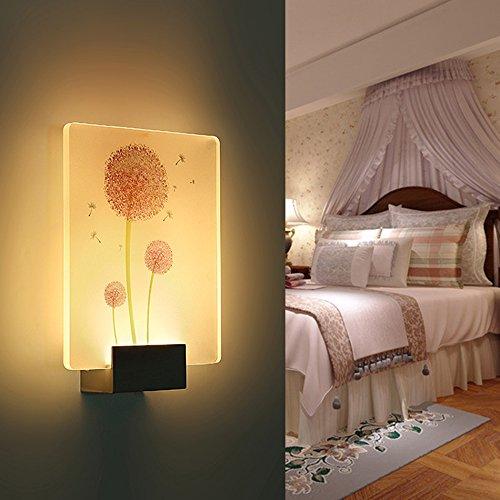 Applique Murale LED, Creative Moderne Salon Chambre Lampe de Chevet Escalier Couloir Lampe Murale Rectangulaire (Style : P)