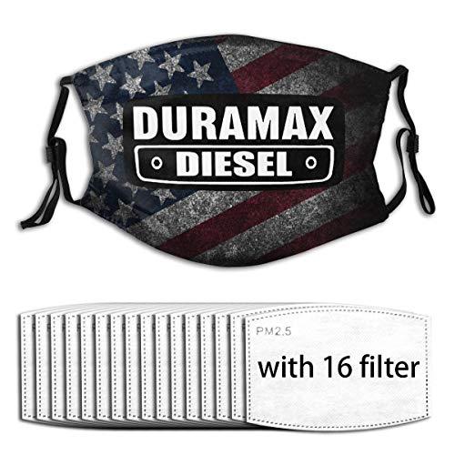 Duramax Unisex Dustproof Mask, Classic Funny Face Mask