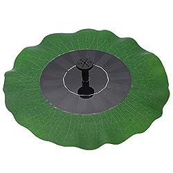 Fabelhaft ᐅ Solar Springbrunnen für Miniteich - Dekoration auf kleinem Raum @LI_39