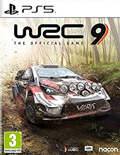 WRC 9 The Official Game PS5 (PS4)