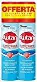 Autan - Spray Family Care repelente de insectos y antimosquitos tigre y comunes, pack con 2 envases de 100 ml