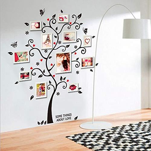 JSJJAYH Pegatinas de Pared 100 * 120 cm / 40 * 48 Pulgadas 3D DIY extraíble Foto del árbol de PVC de Pared Adhesivos/Adhesiva Pared Pegatinas Arte Mural Decoración Decoraciones de Interior