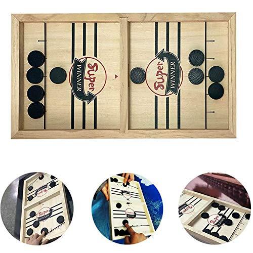 Portable Snelle Spel Sling Puck Bordspel Ouder-Kind Interactieve Educatieve Bordspellen Paced Winner Board Family Games for Child