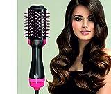 deasy spazzola asciugacapelli lisciante e volumizzante ionica 1000w - capelli morbidi e lucenti, perfetti come dal parrucchiere.