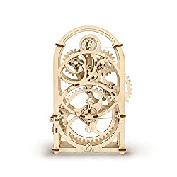 S.T.E.A.M. Line Toys UGears Models 3-D Wooden Puzzle - Mechanical Clockwork Timer