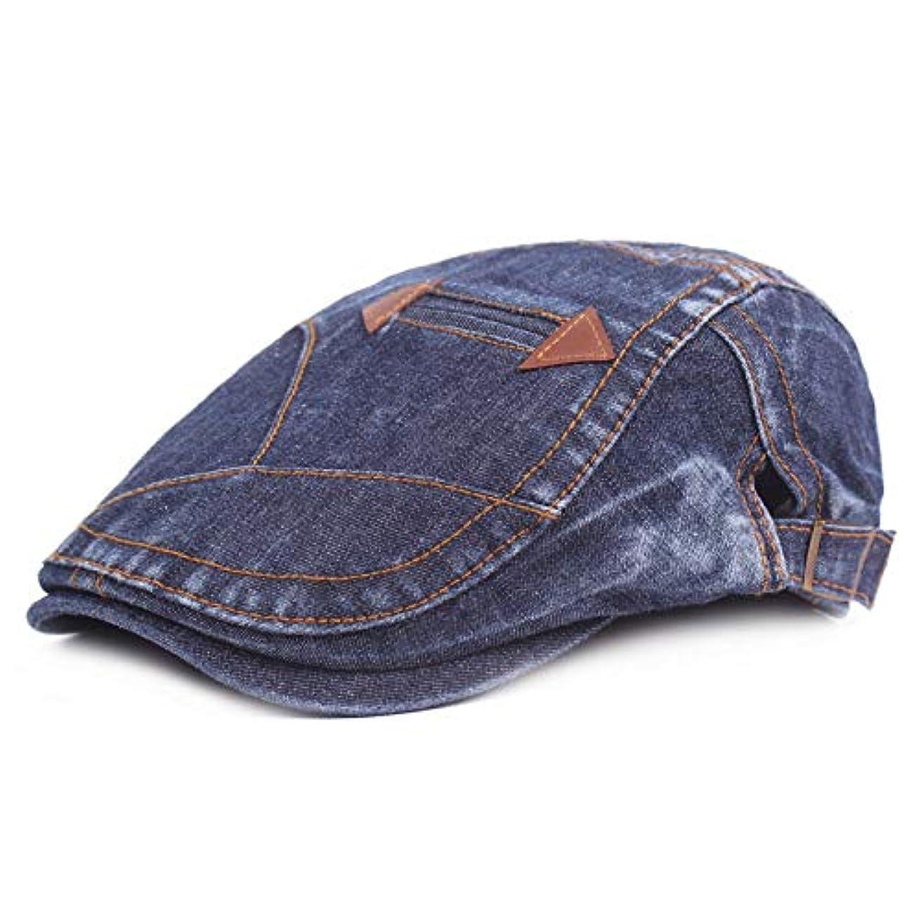 平らにするリール欠員ベレー帽 ユニセックス おしゃれ 綿 ハンチング帽子 紫外線対策調節可能 日よけ 帽子
